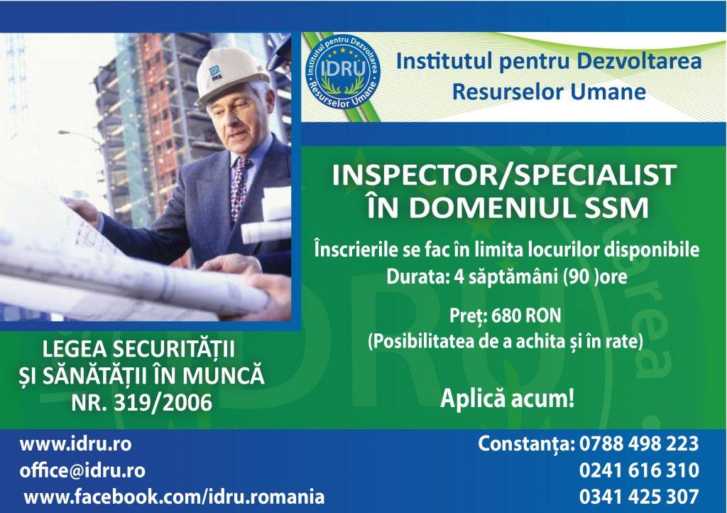 Inspector/Specialist SSM