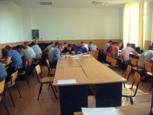 Examen absolvire lucrător în izolații