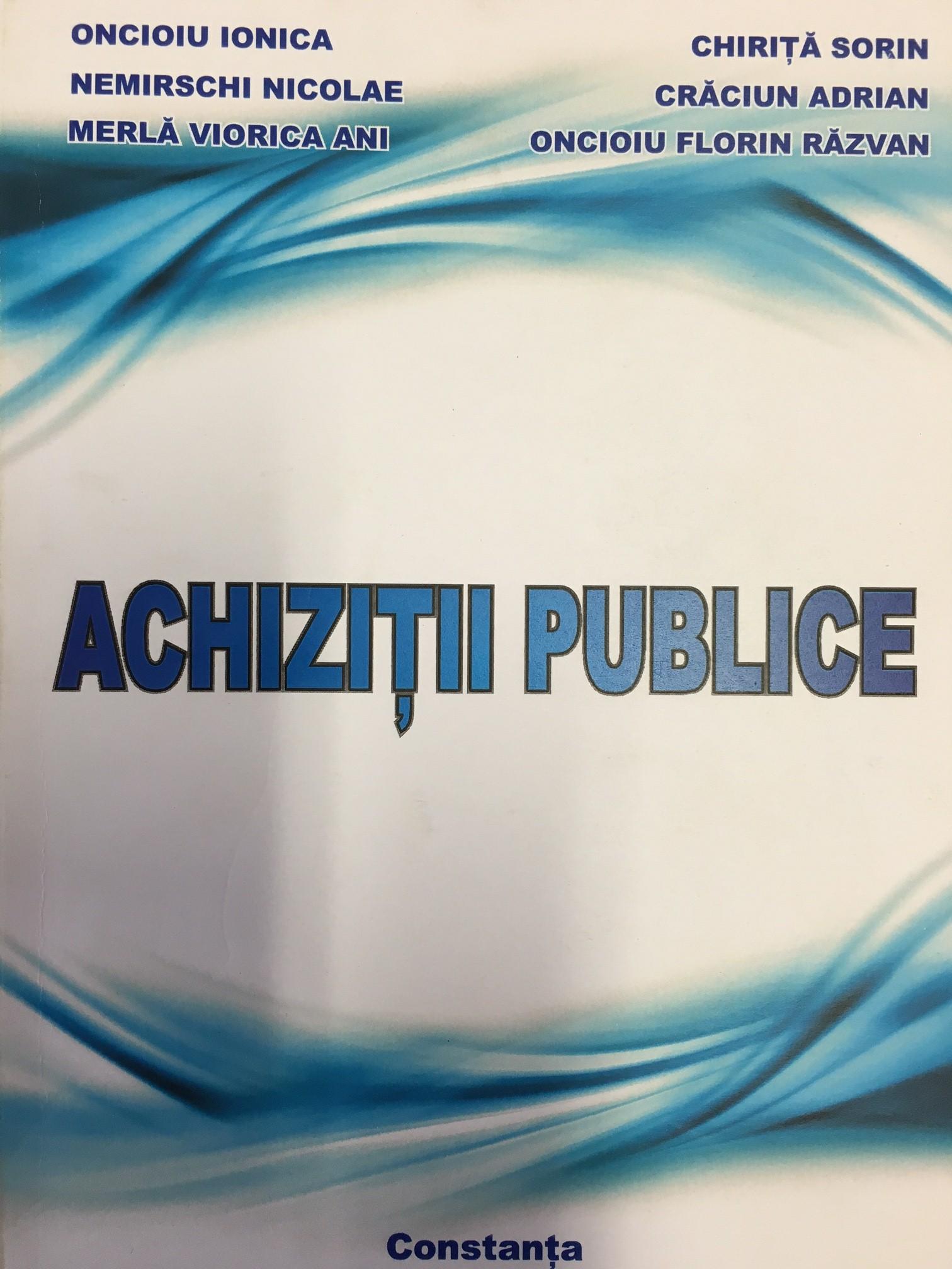 Achizitii Publice