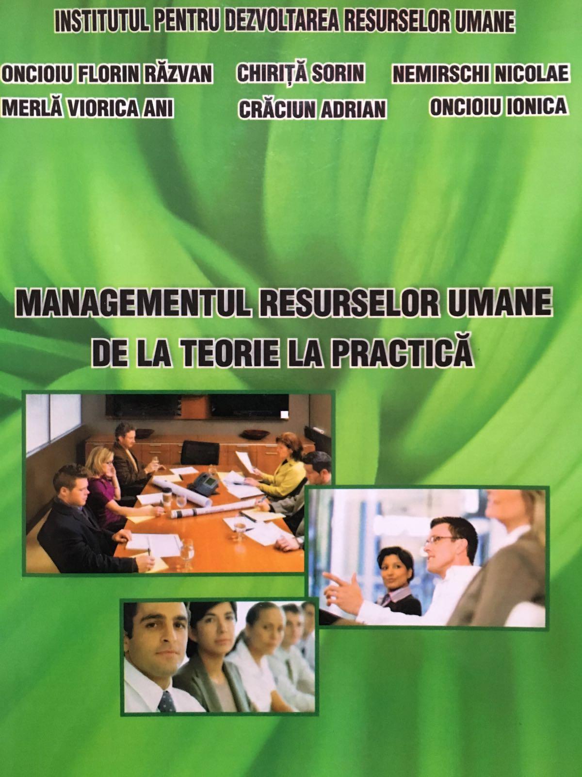 Managementul resurselor umane de la teorie la practica